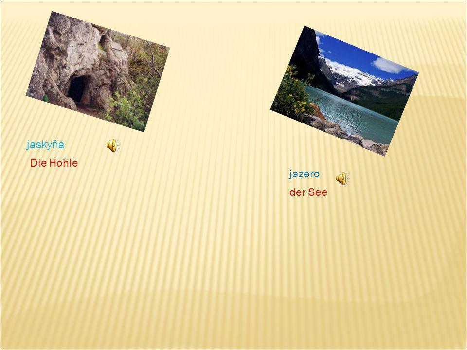 jaskyňa Die Hohle jazero der See