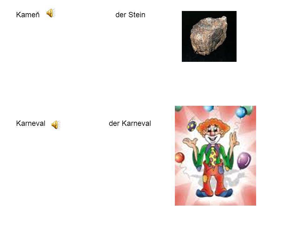 Kameň der Stein Karneval der Karneval.