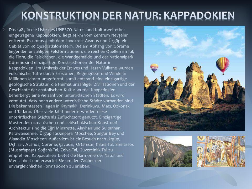 KONSTRUKTION DER NATUR: KAPPADOKIEN