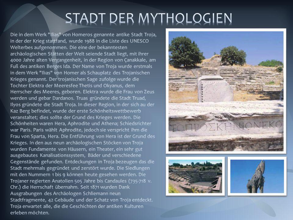 STADT DER MYTHOLOGIEN