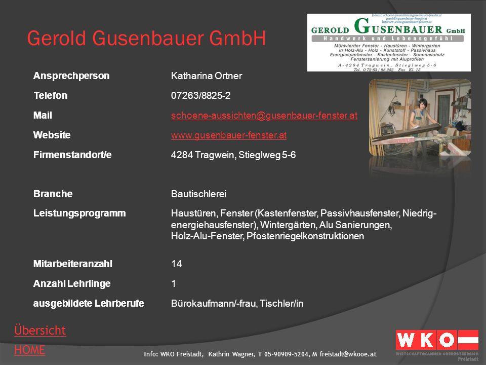 Gerold Gusenbauer GmbH