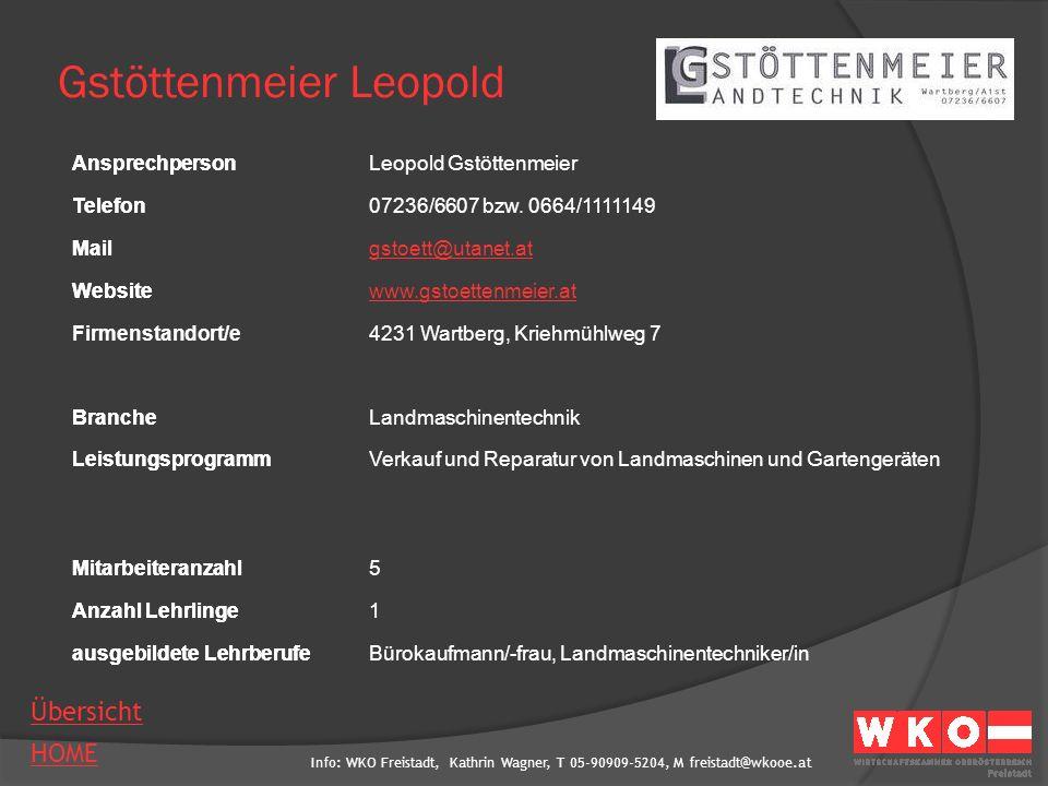 Gstöttenmeier Leopold