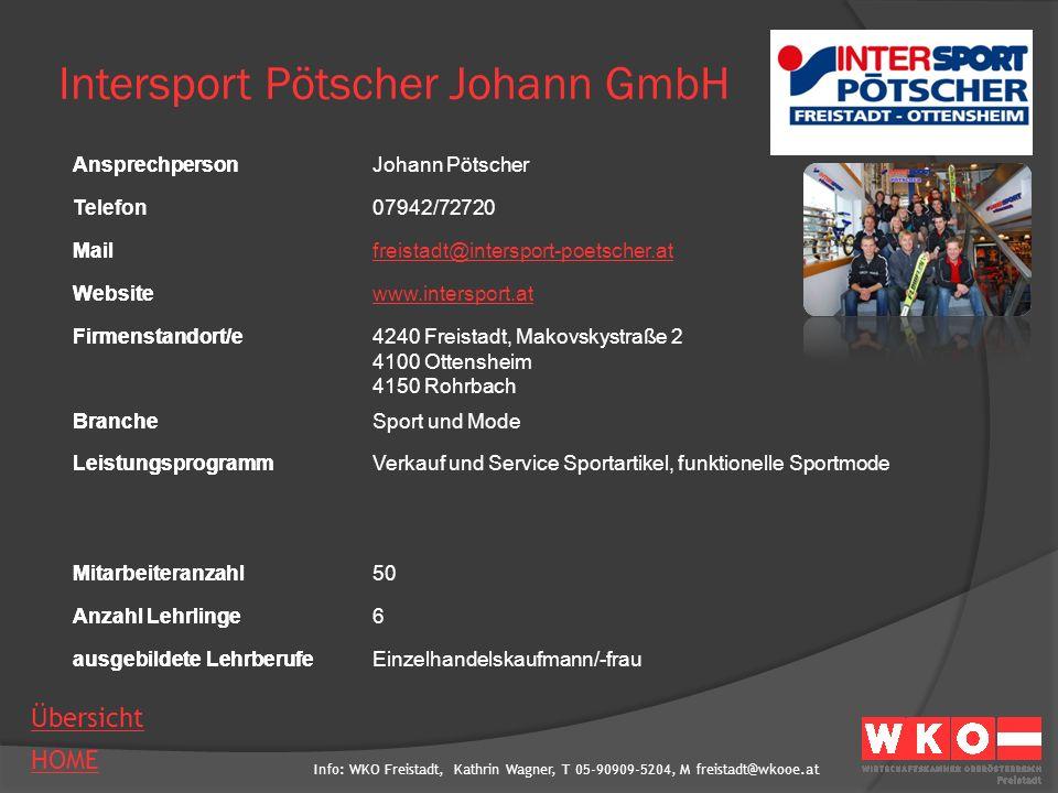 Intersport Pötscher Johann GmbH