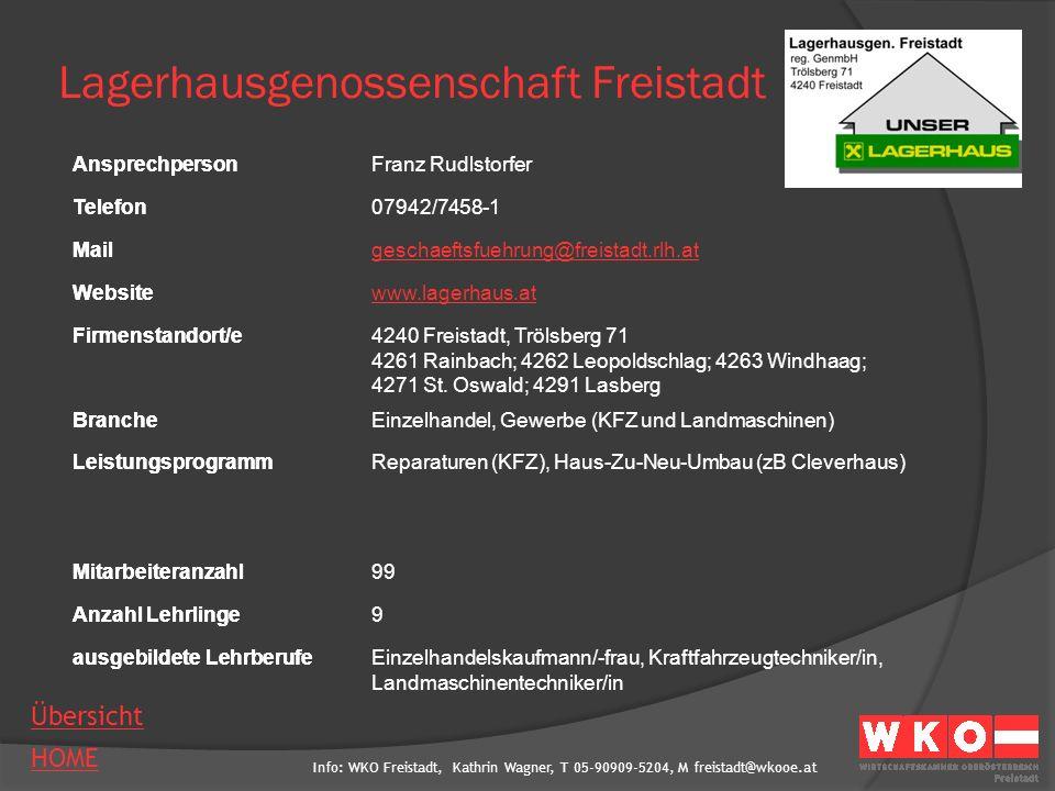 Lagerhausgenossenschaft Freistadt