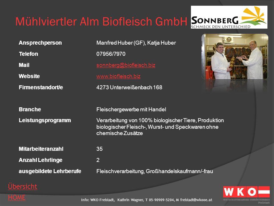 Mühlviertler Alm Biofleisch GmbH