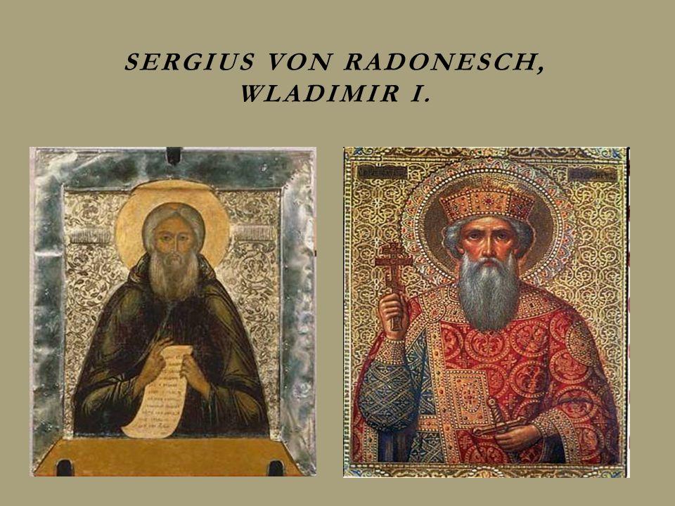 Sergius von Radonesch, Wladimir I.