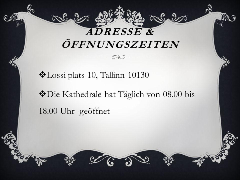 Adresse & Öffnungszeiten