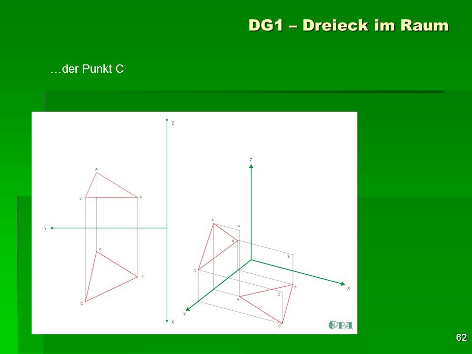 DG1 – Dreieck im Raum …der Punkt C