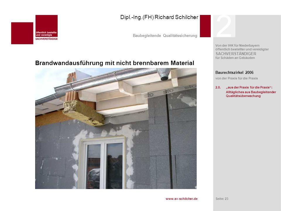Baubegleitende Qualitätssicherung