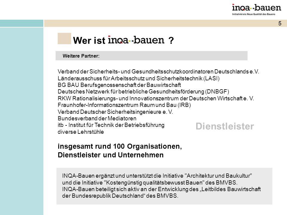 5 Wer ist Weitere Partner: Verband der Sicherheits- und Gesundheitsschutzkoordinatoren Deutschlands e.V.