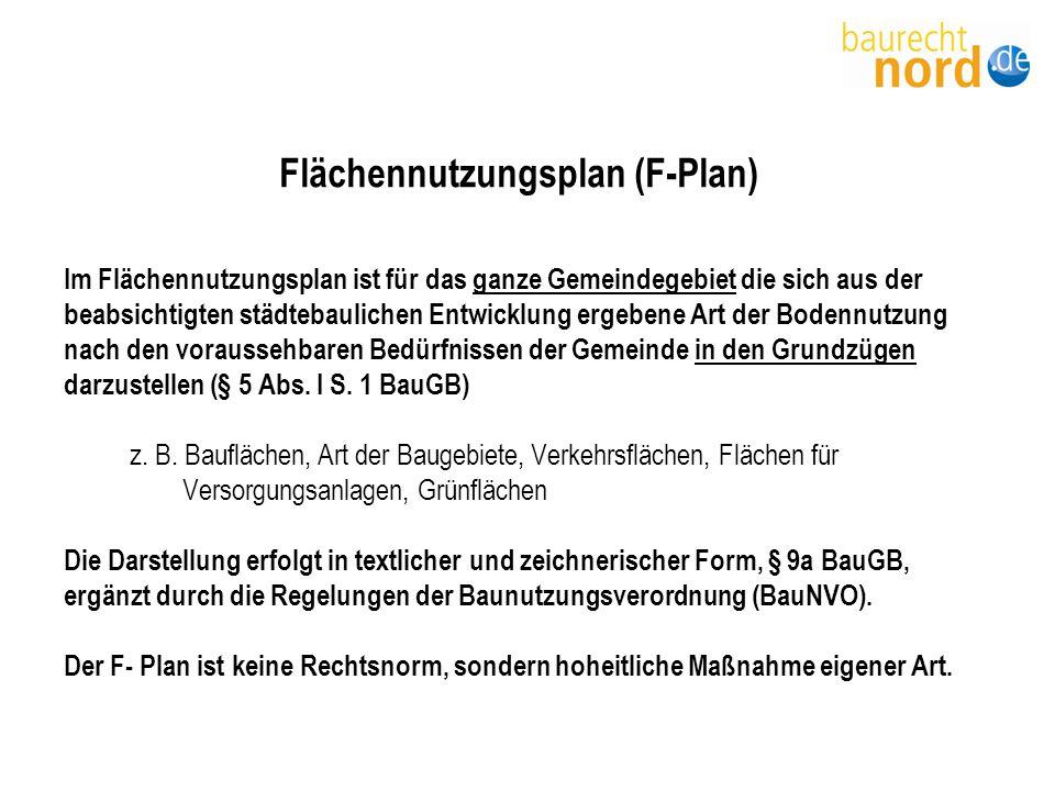 Flächennutzungsplan (F-Plan)