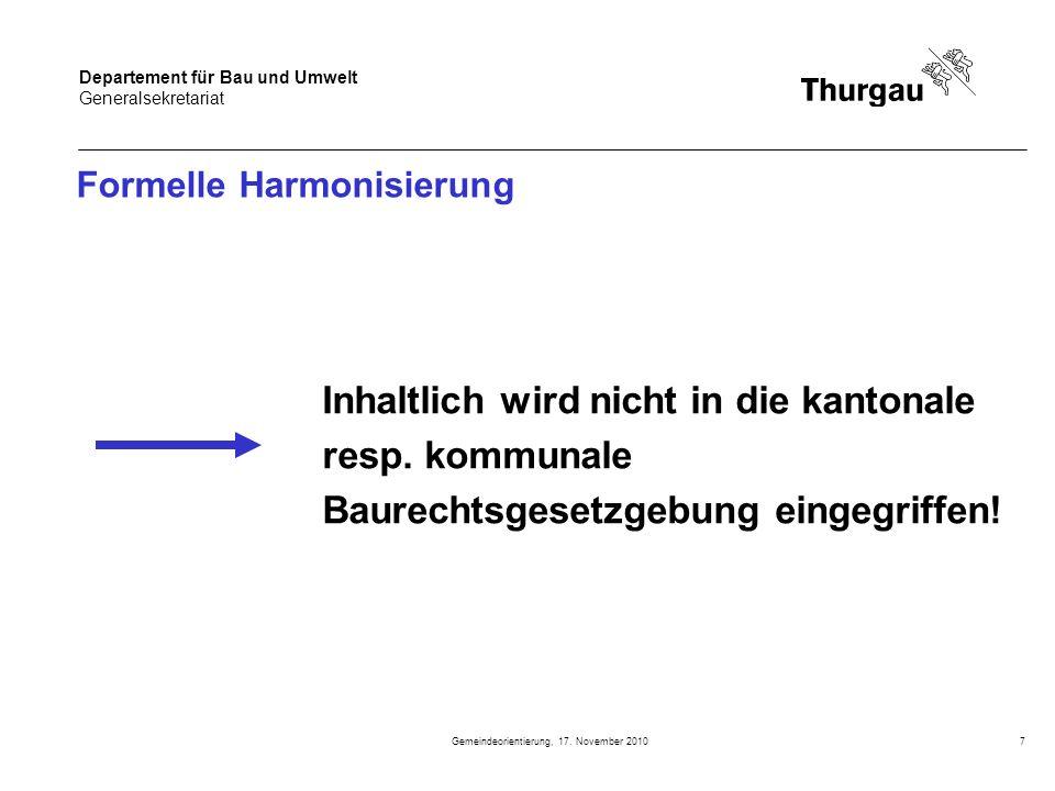 Formelle Harmonisierung