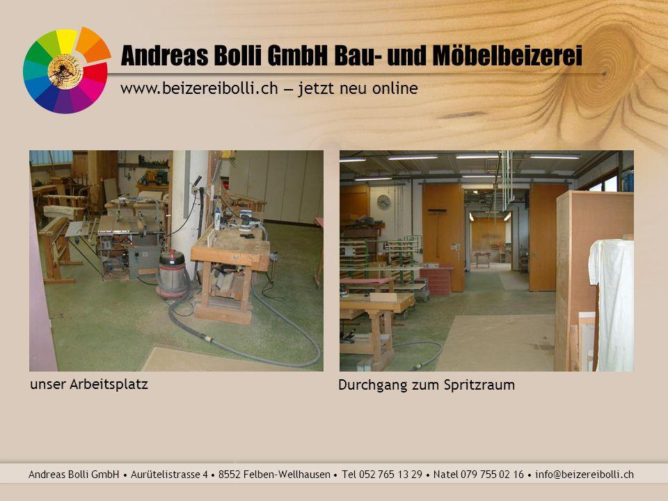 Andreas Bolli GmbH Bau- und Möbelbeizerei