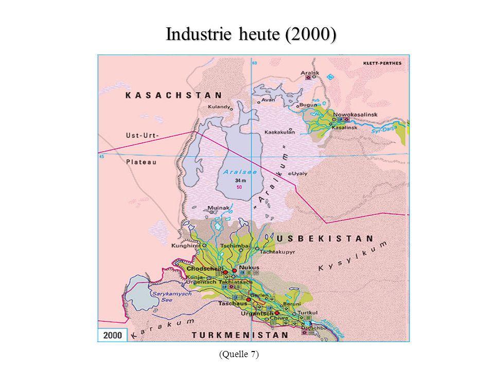 Industrie heute (2000) (Quelle 7)