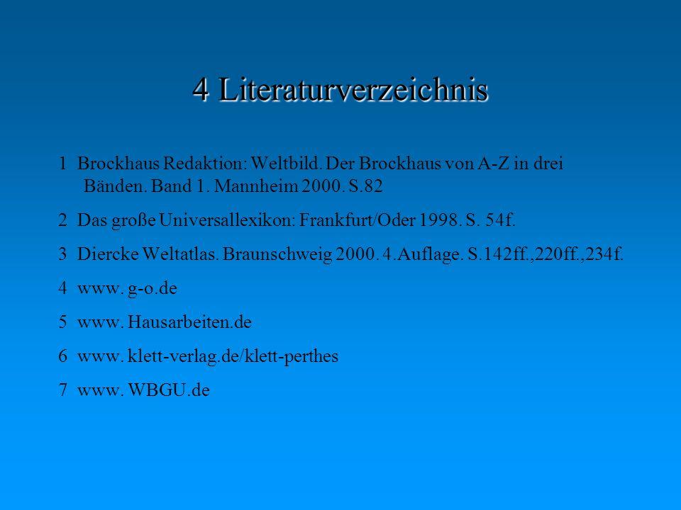 4 Literaturverzeichnis
