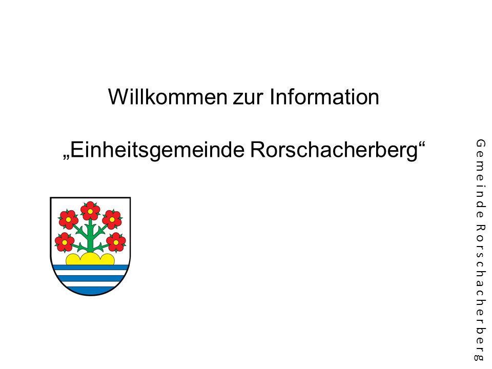 """Willkommen zur Information """"Einheitsgemeinde Rorschacherberg"""