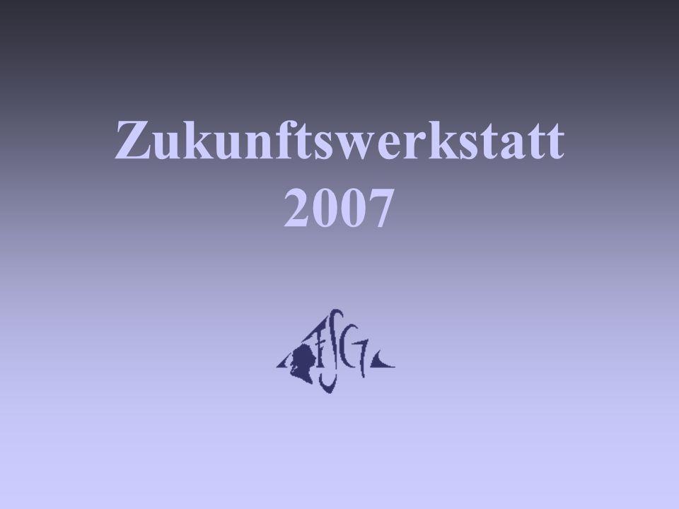Zukunftswerkstatt 2007
