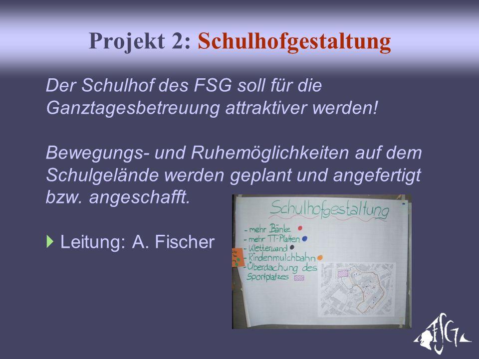Projekt 2: Schulhofgestaltung