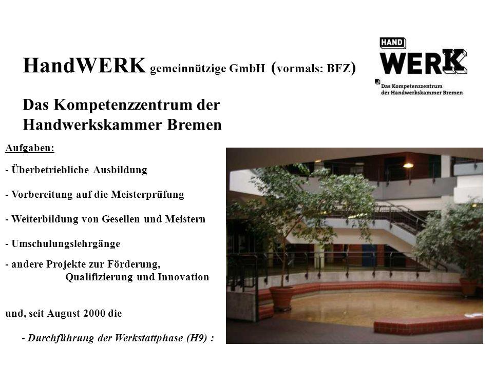 HandWERK gemeinnützige GmbH (vormals: BFZ)