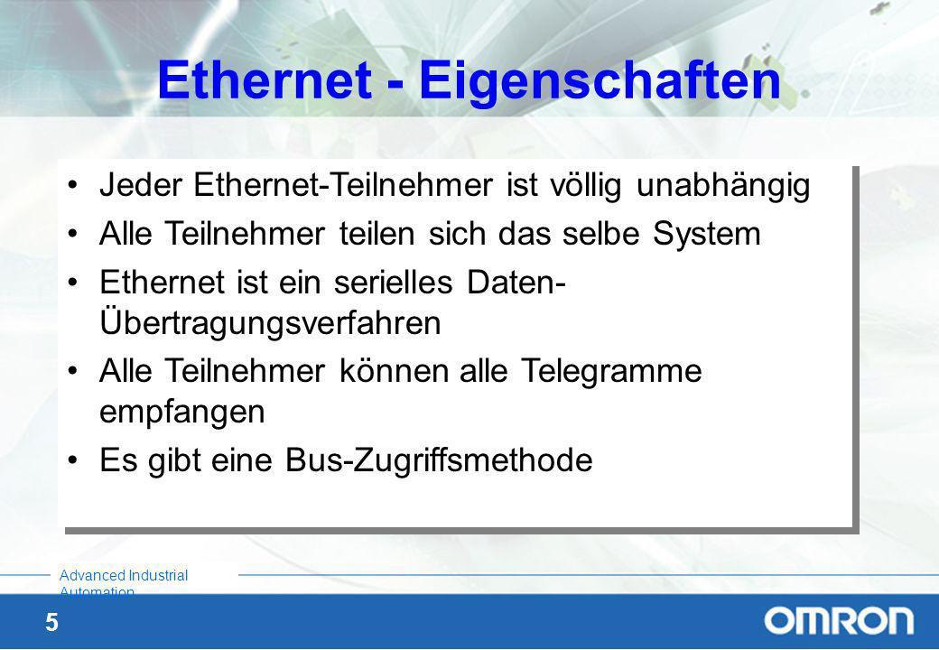 Ethernet - Eigenschaften
