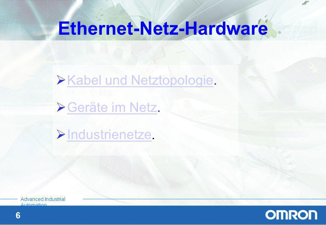 Ethernet-Netz-Hardware