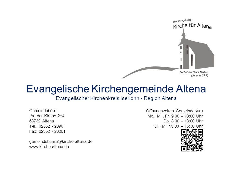 Evangelische Kirchengemeinde Altena
