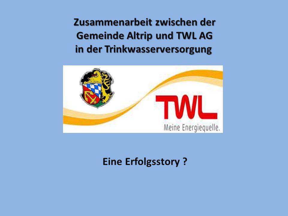 Zusammenarbeit zwischen der Gemeinde Altrip und TWL AG
