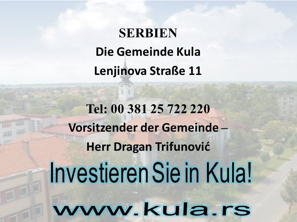 Investieren Sie in Kula!