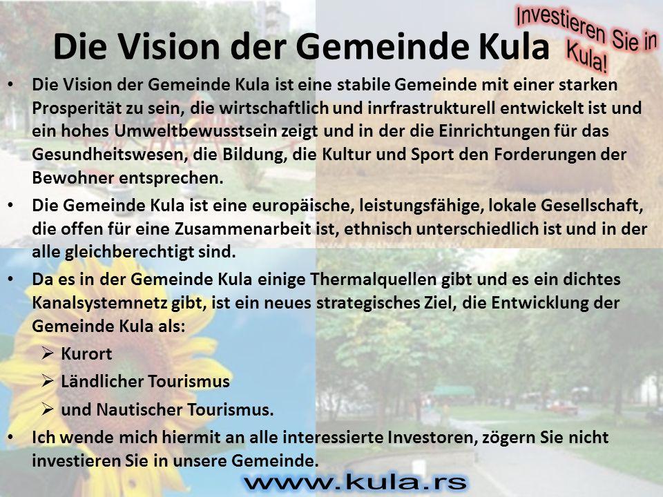 Die Vision der Gemeinde Kula