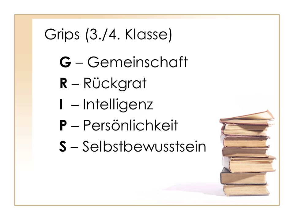 Grips (3./4.