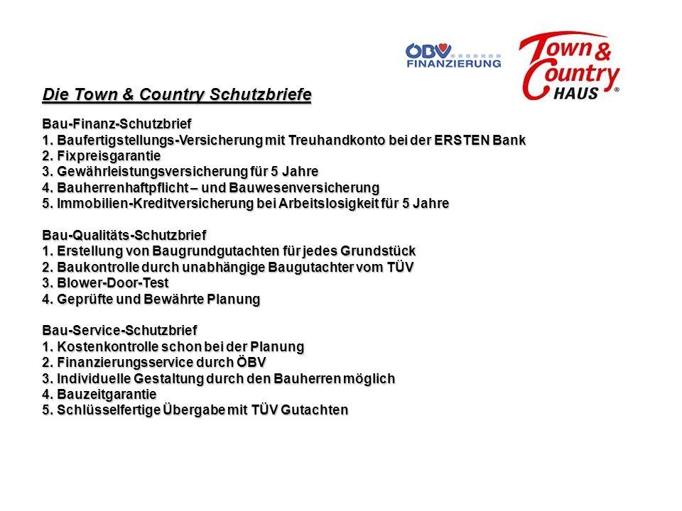 Die Town & Country Schutzbriefe Bau-Finanz-Schutzbrief 1