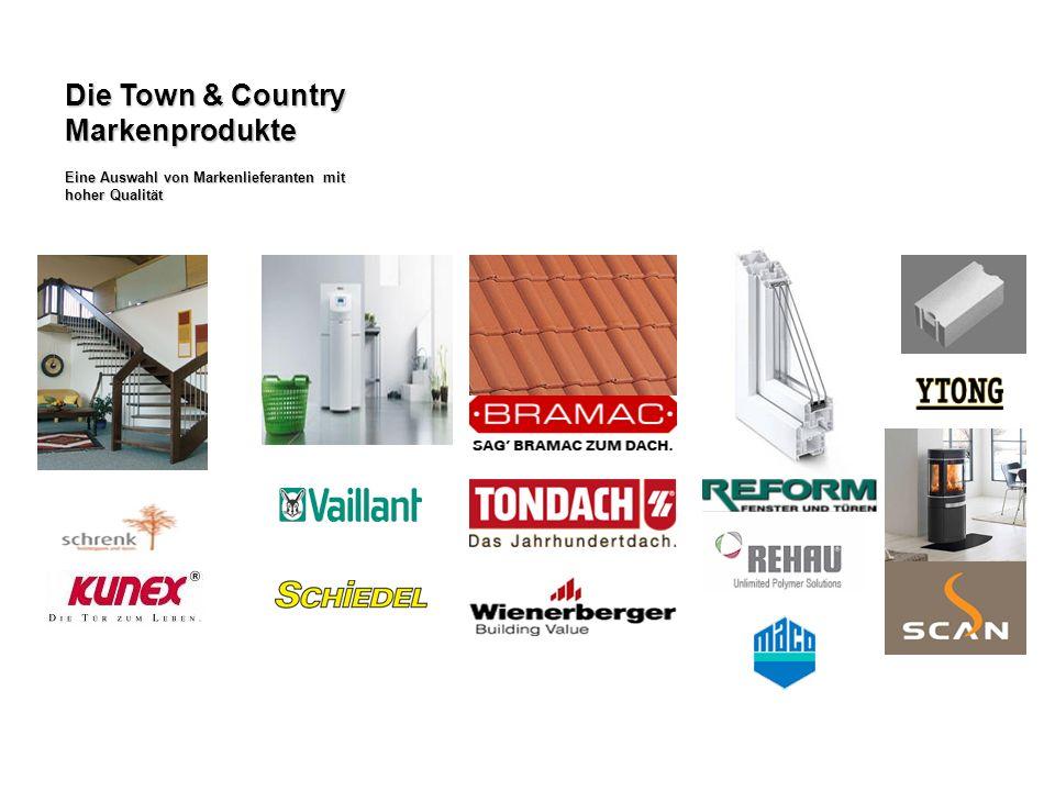 Die Town & Country Markenprodukte Eine Auswahl von Markenlieferanten mit hoher Qualität