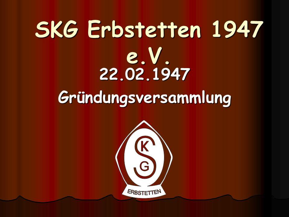 22.02.1947 Gründungsversammlung