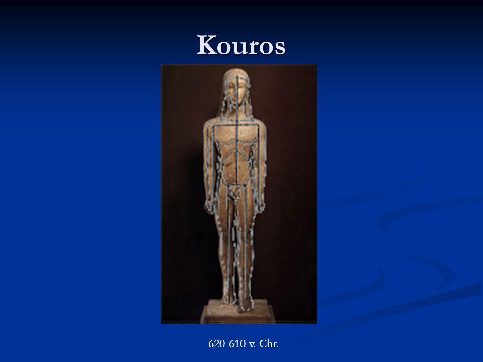 Kouros 620-610 v. Chr.
