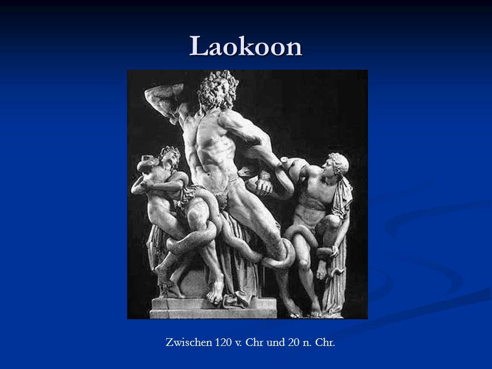 Laokoon Zwischen 120 v. Chr und 20 n. Chr.
