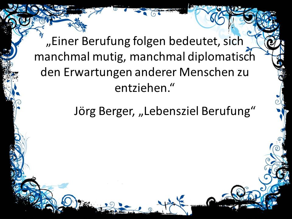 """Jörg Berger, """"Lebensziel Berufung"""