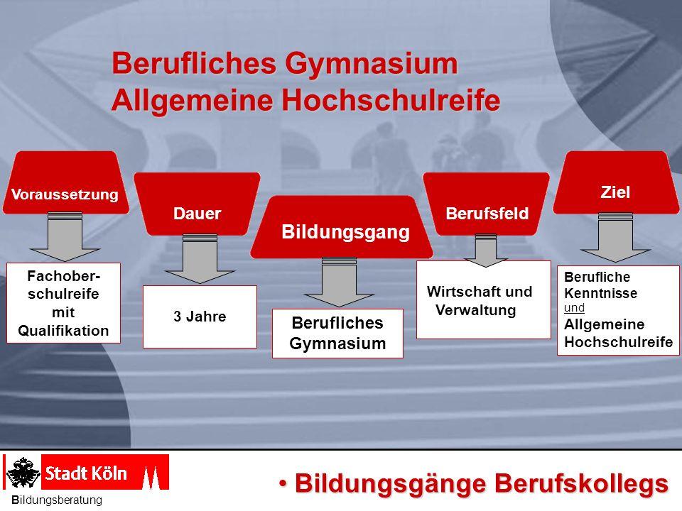 Berufliches Gymnasium Allgemeine Hochschulreife