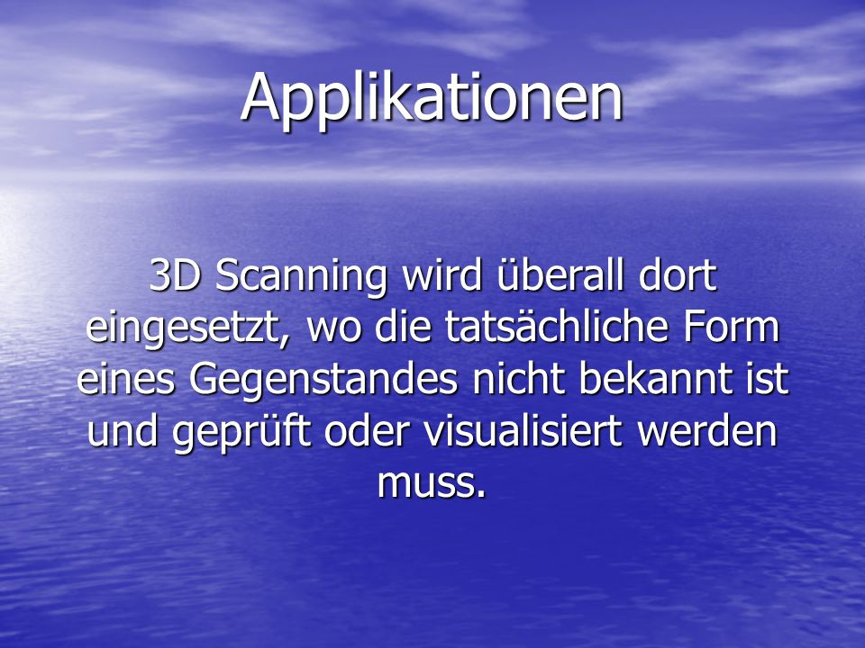 Applikationen