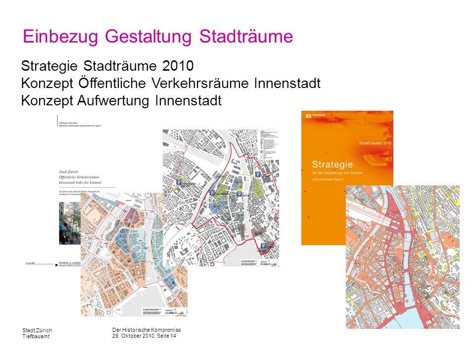 Einbezug Gestaltung Stadträume