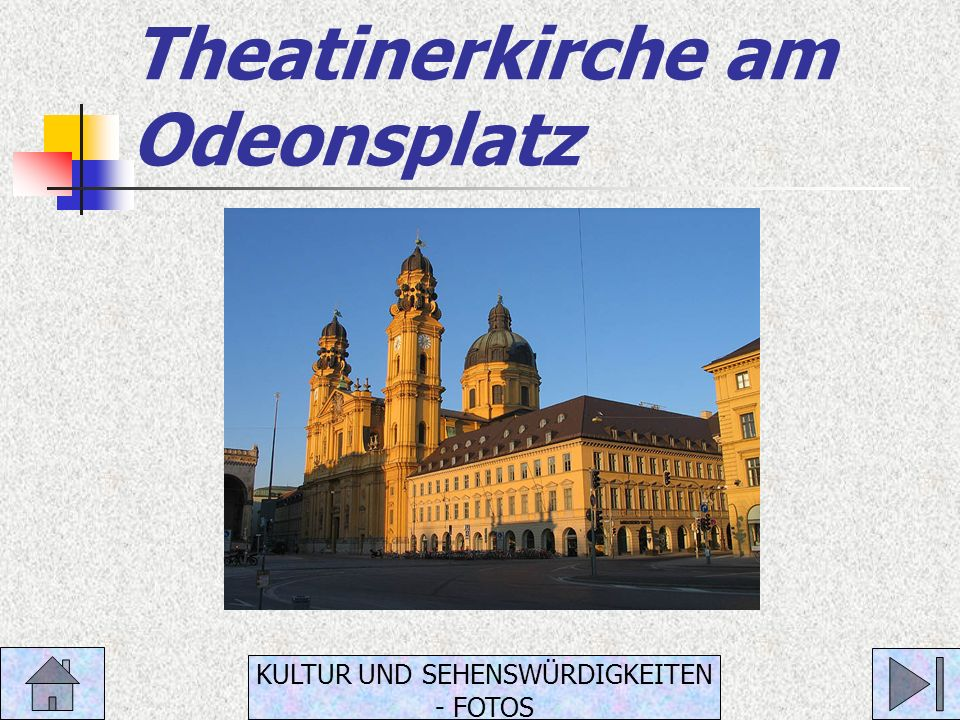 Theatinerkirche am Odeonsplatz