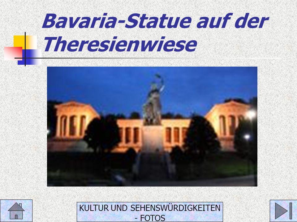 Bavaria-Statue auf der Theresienwiese