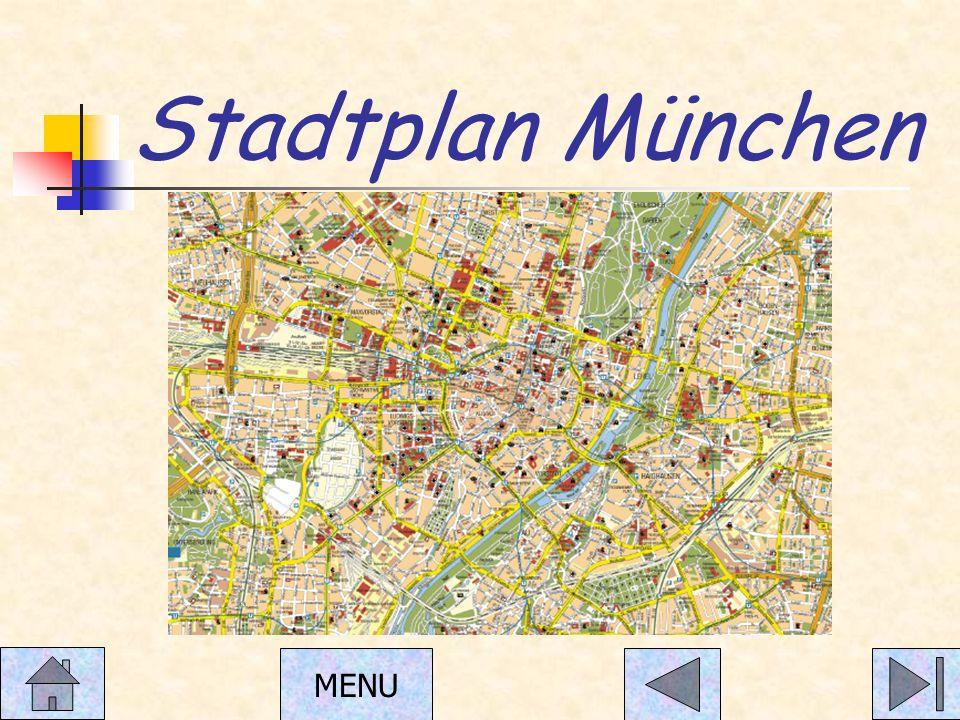 Stadtplan München MENU