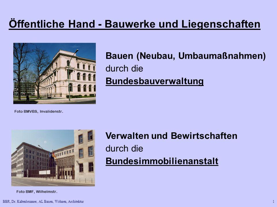 Öffentliche Hand - Bauwerke und Liegenschaften