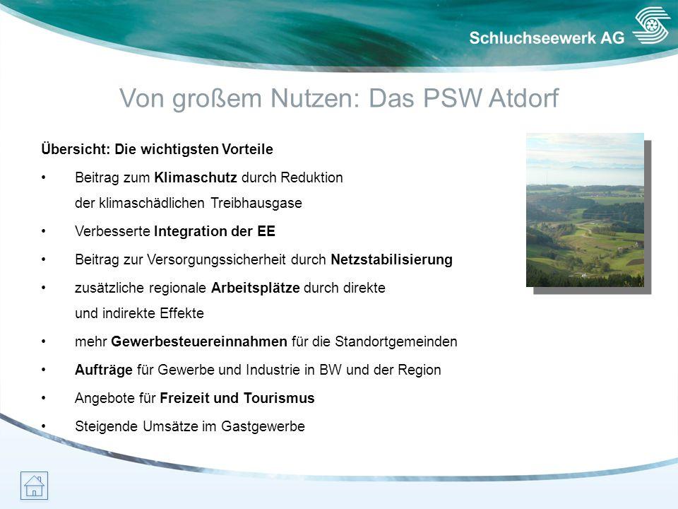 Von großem Nutzen: Das PSW Atdorf
