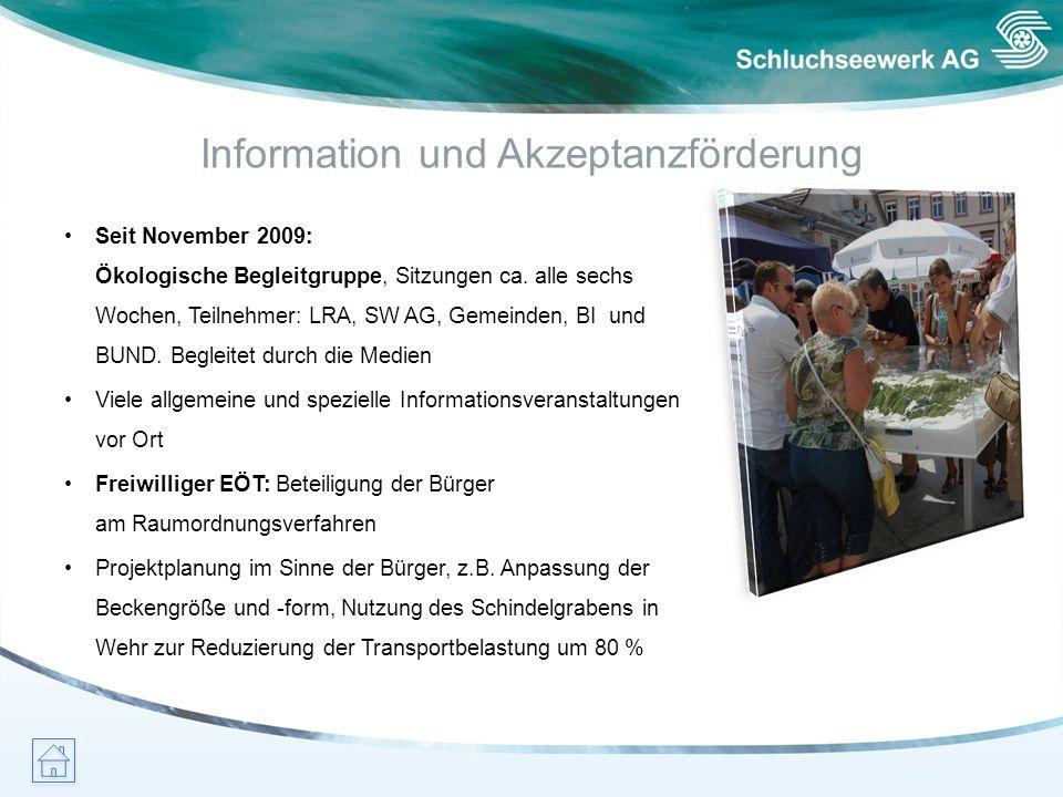Information und Akzeptanzförderung