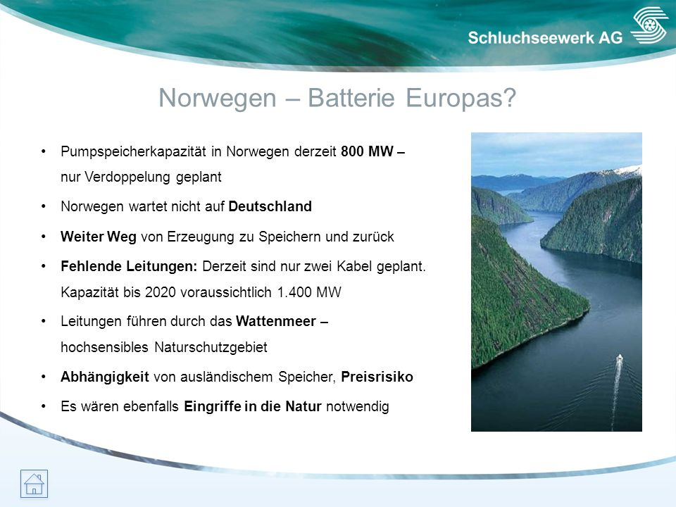 Norwegen – Batterie Europas