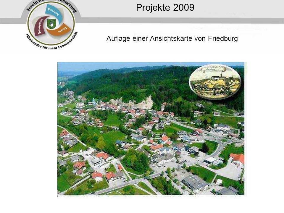 Auflage einer Ansichtskarte von Friedburg