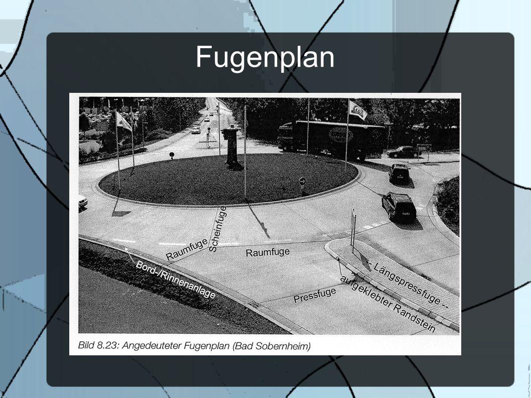 Fugenplan