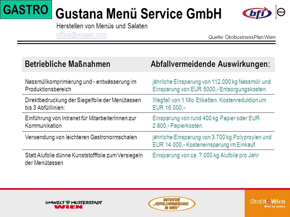 Gustana Menü Service GmbH