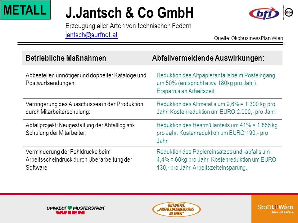 J.Jantsch & Co GmbH METALL